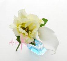 他の写真2: 造花リシアンサス(トルコキキョウ) シャワースタイルブーケ ボリュームT