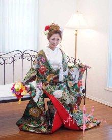 他の写真1: 造花和装用ボールブーケ ダリア・マムミックス