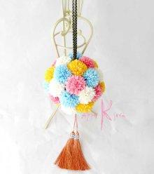 他の写真1: 造花オーダーメイドブーケ 和装ボールブーケ(マムwpyb4)