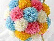 他の写真3: 造花オーダーメイドブーケ 和装ボールブーケ(マムwpyb4)